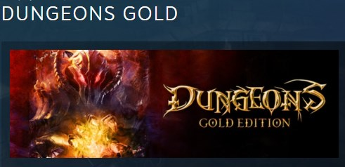 DUNGEONS GOLD STEAM KEY RU+CIS LICENSE 💎