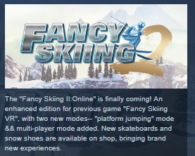 Fancy Skiing 2: Online STEAM KEY REGION FREE GLOBAL