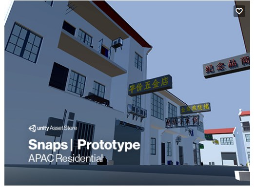 Snaps Prototype Asian Residential assetstore.unity.com