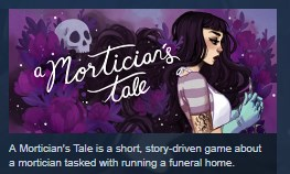 A Mortician´s Tale STEAM KEY REGION FREE GLOBAL