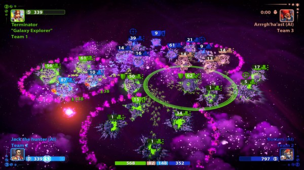 Planets Under Attack STEAM KEY REGION FREE GLOBAL