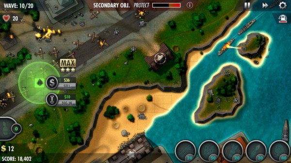 iBomber Defense Pacific ( Steam Key / Region Free )
