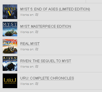 Myst Bundle ( GOG.COM Key )