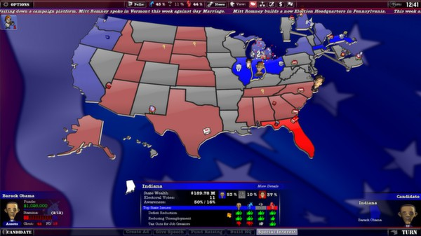 The Political Machine 2012  ( STEAM GIFT RU + CIS )