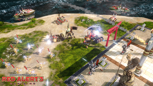 Command & Conquer Red Alert 3 Uprising ( STEAM KEY ROW)