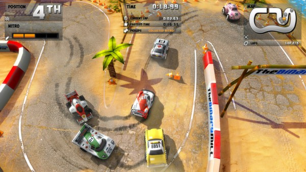 Mini Motor Racing EVO STEAM KEY REGION FREE GLOBAL