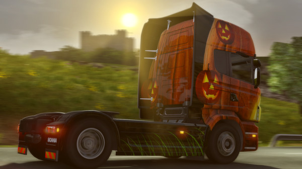 Euro Truck Simulator 2 Halloween Paint Jobs DLC GIFT