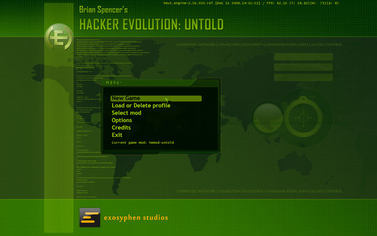 Hacker Evolution: Untold (Steam Key / Region Free)