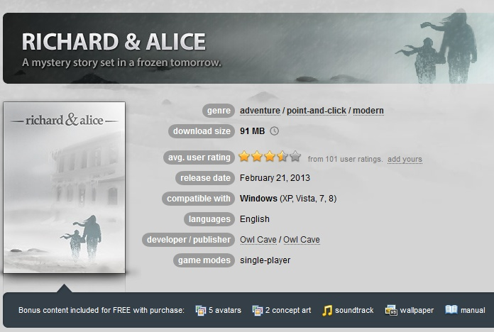 Richard & Alice  ( GOG.COM Key )