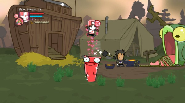 Castle Crashers - Pink Knight Pack STEAM GIFT RU + CIS