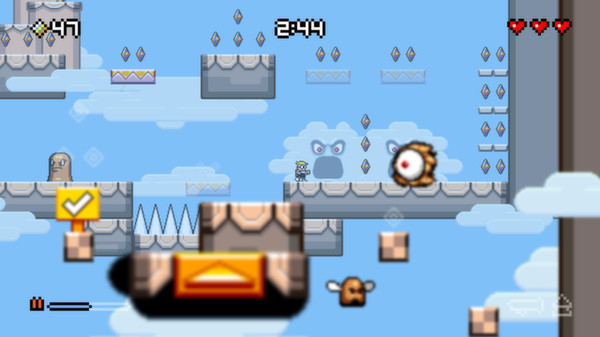 Mutant Mudds Deluxe STEAM KEY REGION FREE GLOBAL