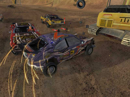 FlatOut 1 ( STEAM GIFT RU + CIS )