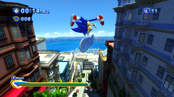Sonic Generations  STEAM KEY RU+CIS LICENSE
