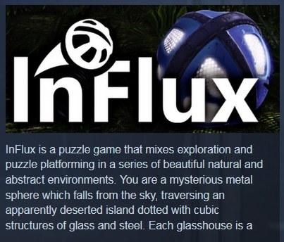 InFlux (Steam Key / Region Free)