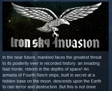 Фотография iron sky invasion steam key region free global💎