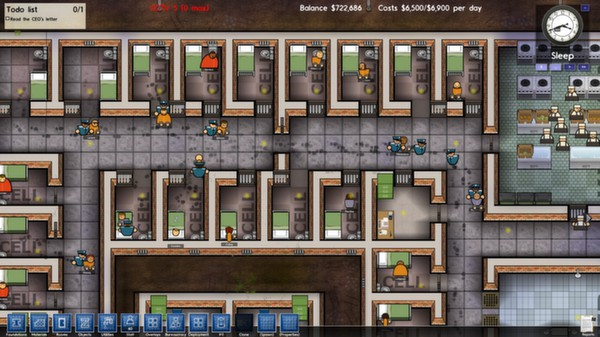 Prison Architect STEAM KEY RU+CIS LICENSE 💎