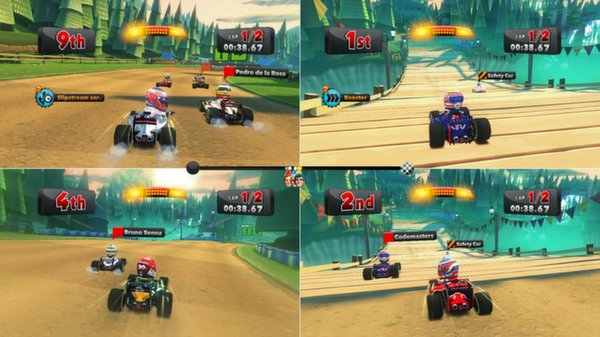 F1 Race Stars ( Steam Key / Region Free ) GLOBAL ROW