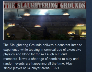 The Slaughtering Grounds ( Steam Key / Region Free )