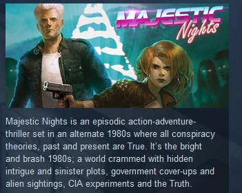 Majestic Nights (Steam Key / Region Free)