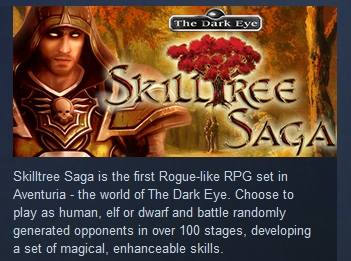 Skilltree Saga ( Steam Key / Region Free ) GLOBAL ROW