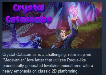 Crystal Catacombs STEAM KEY REGION FREE GLOBAL ROW