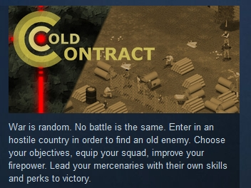 Cold Contract  ( Steam Key / Region Free )