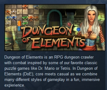 Dungeon of Elements ( Steam Key / Region Free )