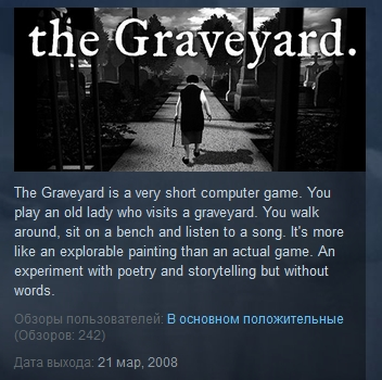 The Graveyard  ( Steam Key / Region Free )