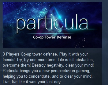 Particula 2015 ( Steam Key / Region Free ) GLOBAL ROW