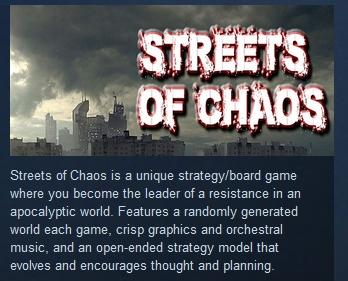 Фотография streets of chaos steam key region free global