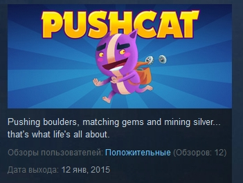 Pushcat  ( Steam Key / Region Free )