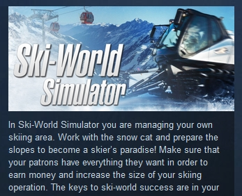 Ski-World Simulator  ( Steam Key / Region Free ) GLOBAL