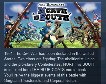 The Bluecoats: North vs South STEAM KEY REGION FREE