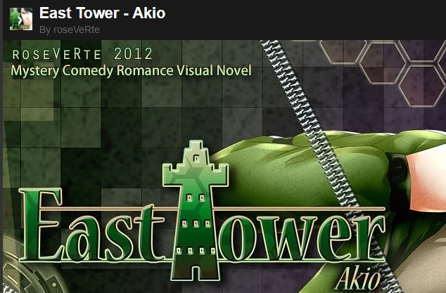 East Tower - Akio ( Desura Key / Region Free )