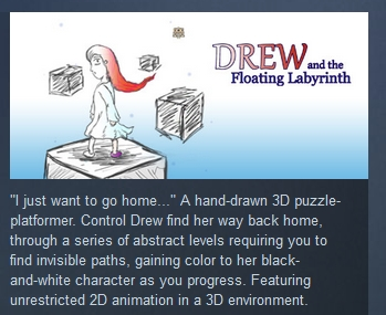 Drew and the Floating Labyrinth (STEAM KEY REGION FREE)