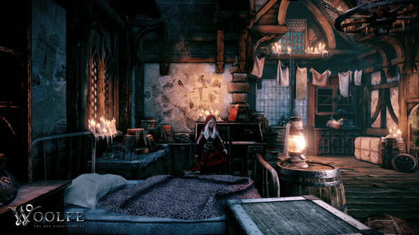 Woolfe - The Red Hood Diaries (Steam Key / Region Free)