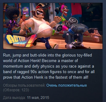 Action Henk ( Steam Key / Region Free ) GLOBAL ROW