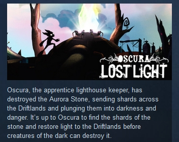 Oscura: Lost Light  ( Steam Key / Region Free )