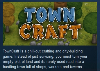 TownCraft  ( Steam Key / Region Free ) GLOBAL ROW