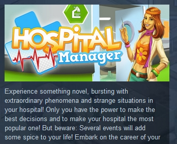 Hospital Manager ( Steam Key / Region Free ) GLOBAL ROW