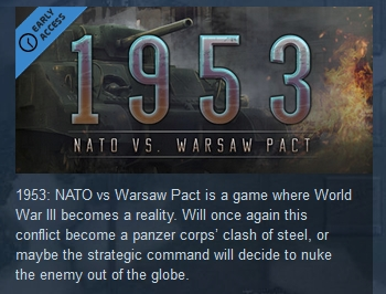1953: NATO vs Warsaw Pact  ( Steam Key / Region Free )