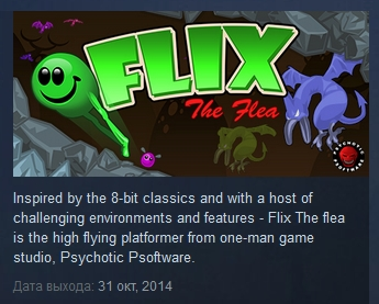 Flix The Flea ( Steam Key / Region Free ) GLOBAL ROW