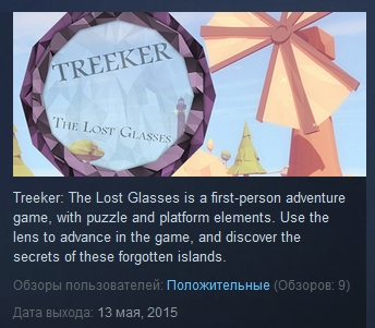 Treeker: The Lost Glasses  ( Steam Key / Region Free )