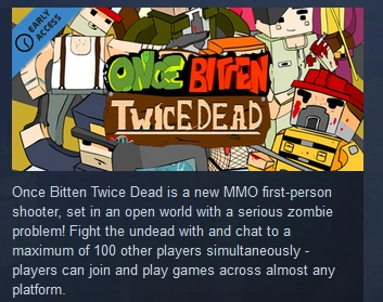 Once Bitten, Twice Dead!  ( Steam Key / Region Free )