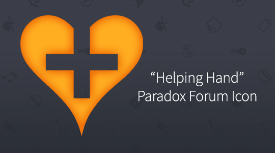 Paradox Forum Icon - Helping Heart LICENSE CODE
