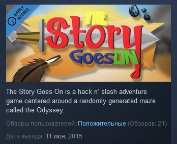 The Story Goes On   ( Steam Key / Region Free )