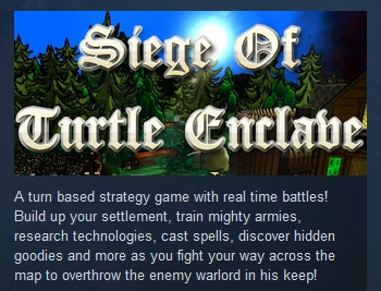 Siege of Turtle Enclave STEAM KEY REGION FREE GLOBAL