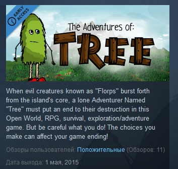The Adventures of Tree  ( Steam Key / Region Free )