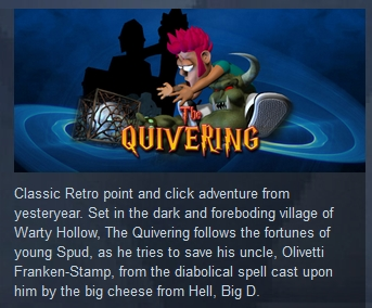 The Quivering ( Steam Key / Region Free )