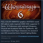 Wizardry 6 and 7 STEAM KEY REGION FREE GLOBAL &#128142